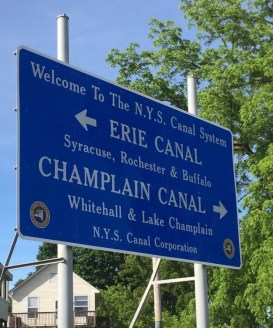June 15 Follow the road to the Erie Canal