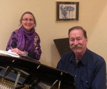 March 15 Rhodes 22 sailor Steve Alm and Maria