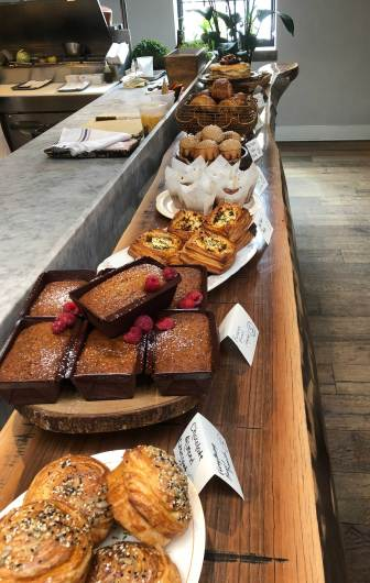 March 18 The pastry line-up at the Spoon and Stable in Minneapolis