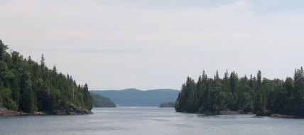 July 15 Tugboat Channel along the Eastern Canadian shore of Lake Superior