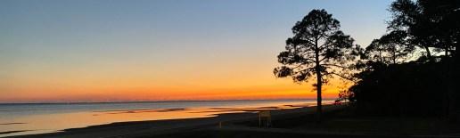 Dec 8 Sunset in Eastport Florida