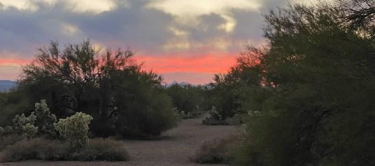 Dec 31 Tucson Sunset