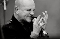 Photos: Gavin Friday - Electric Picnic - 2012-08-31 (black and white)