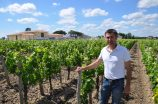 Lionel Caillon, vineyard manager of Petrus, 12 June 2013.