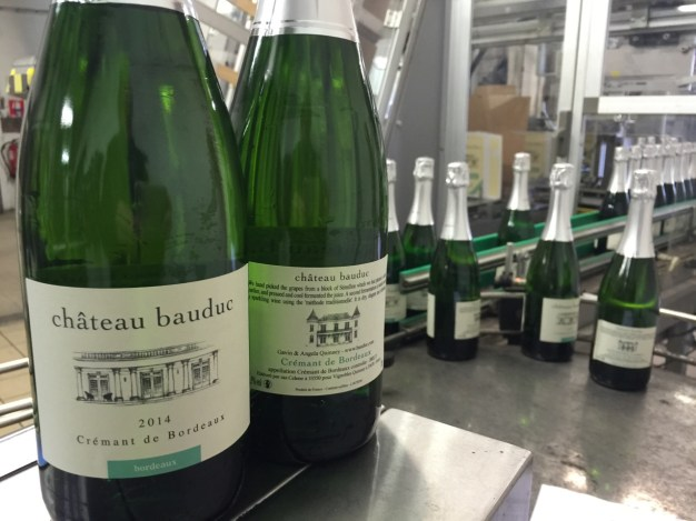 And so there's the story Chateau Bauduc Crémant de Bordeaux