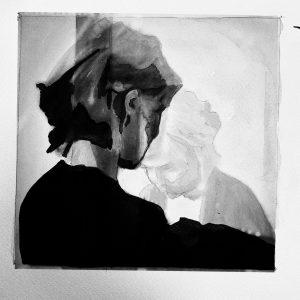 ink on paper illustration