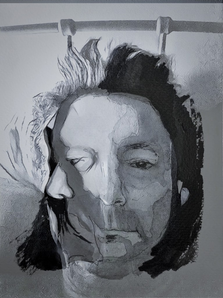 Two Faced portrait