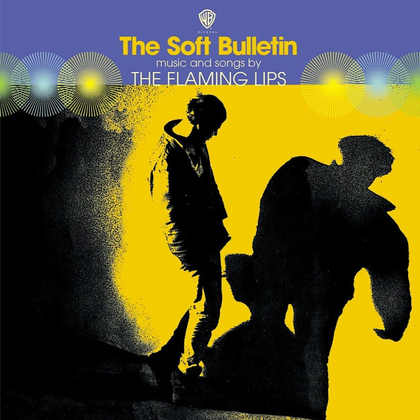 front cover of flaming lips album soft bulletin