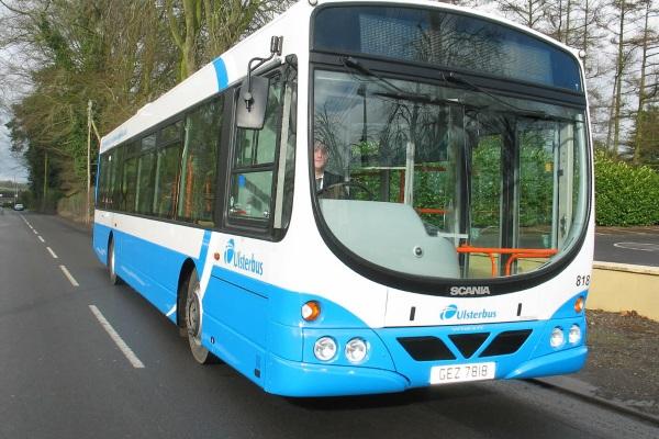 Translink bus service from Bangor to Donagahadee: update