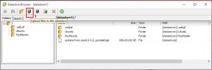 ESXi data store file xfer