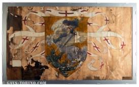 057-Dipinto originale ala dx incorniciato