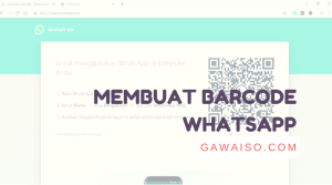 cara membuat barcode whatsapp featured