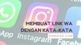 cara membuat link whatsapp featured