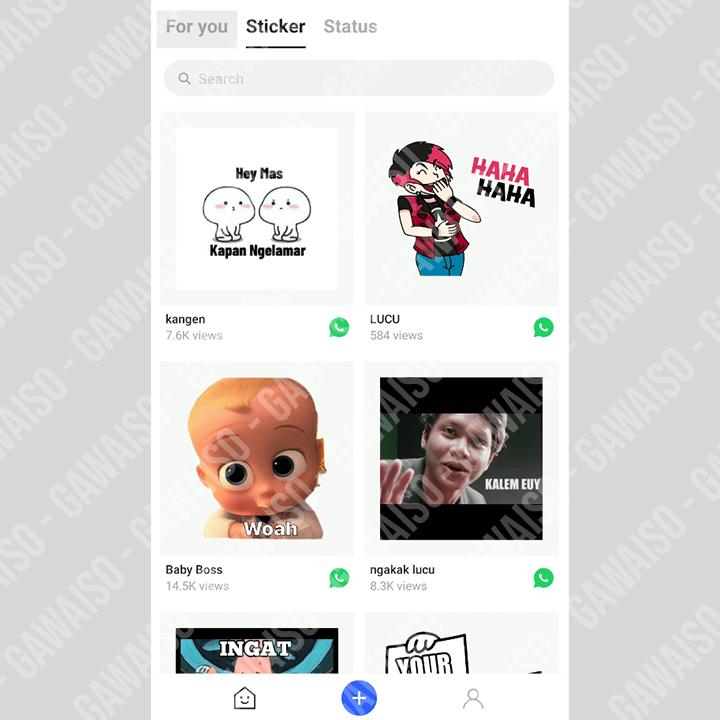 cara membuat stiker whatsapp sendiri - aplikasi stickerly