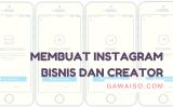 cara membuat instagram bisnis dan creator featured