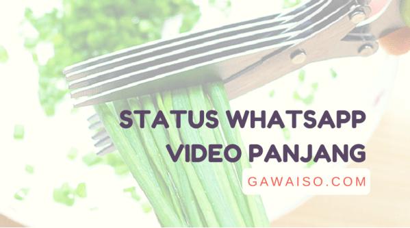 cara upload video durasi panjang di whatsapp