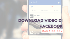 cara download video di facebook