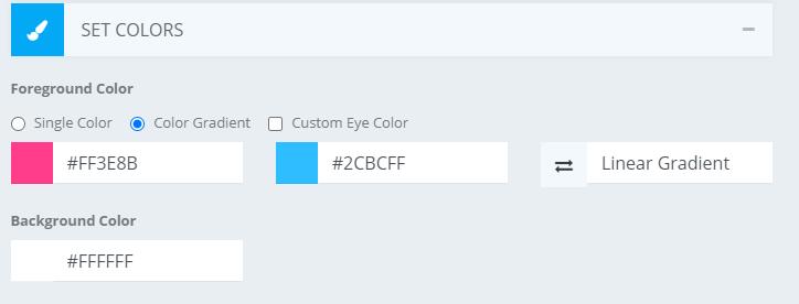cara mengubah warna qr code
