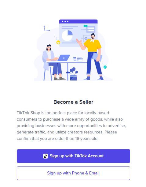 tiktok seller center