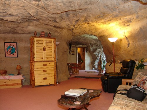Most Unusual Hotels: Kokopelli's Cave Bed & Breakfast