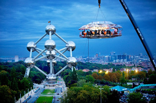 Hanging Restaurant In The Air