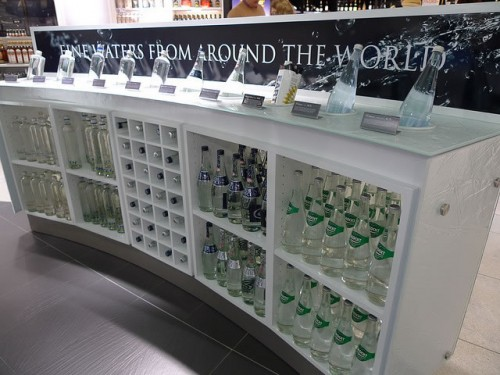 Water on sale at Dublin Airport