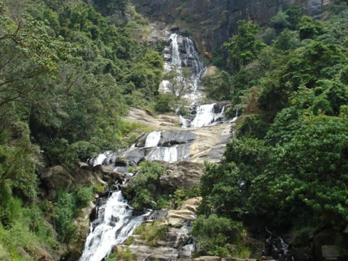 Waterfall in Sri Lanka | (c) Photo By Salika Wicks