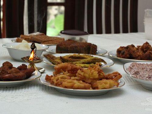 Sinhala and Tamil New Year Food