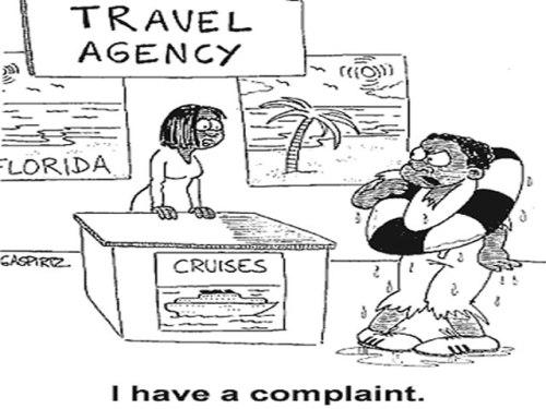Travel Complaints Cartoon