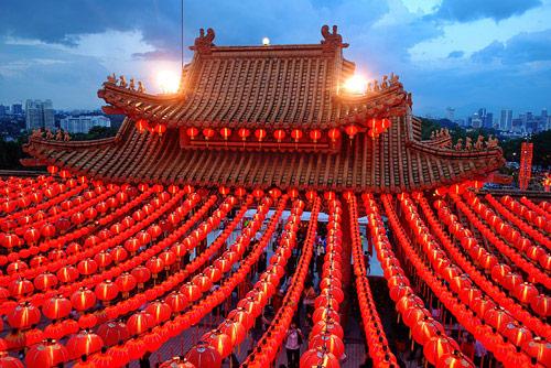 Festivals Around The World - Chinese New Year Lanterns