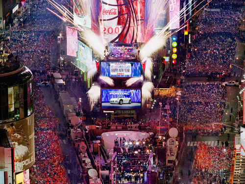 New Years Eve in NYC - Times Square