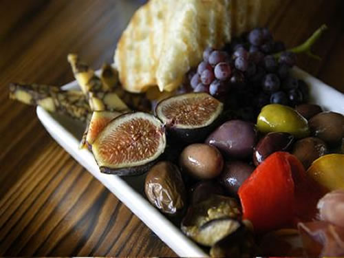 Figs and Olives Platter at 13.5 Wine Bar