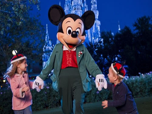 Great Family Vacations: Micky Mouse in Walt Disney World Orlando, Florida