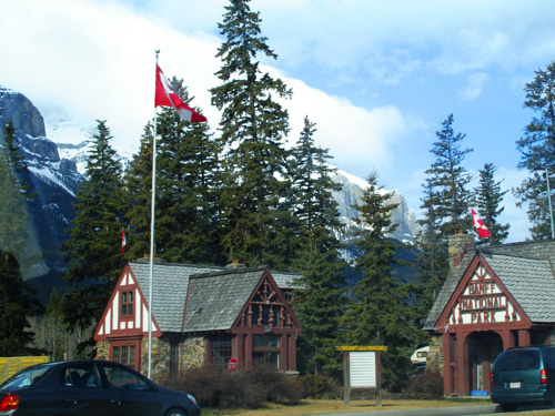 Entrance to the Banff National Park