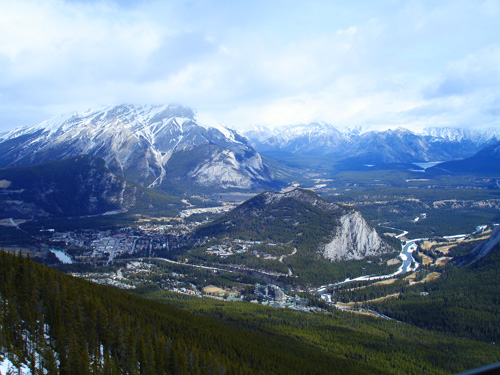 Banff National Park Photo: View from the top