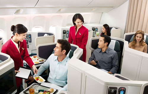 Best International Airlines: Cathay Pacific Business Class