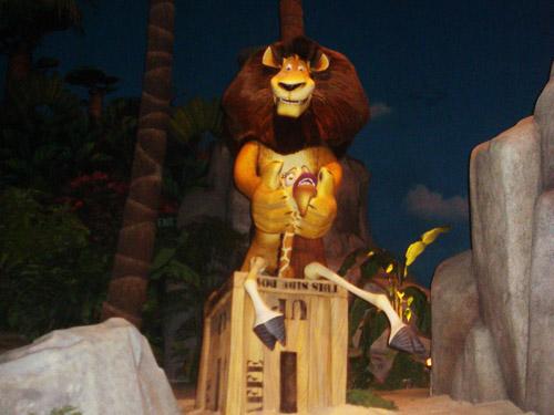 Madagascar: A Crate Adventure @ Universal Studios Singapore