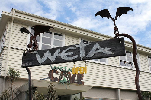 Weta Cave New Zealand