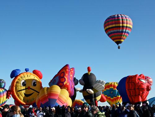 Special Shape Rodeo Balloons-Albuquerque