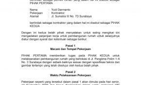Top Contoh Surat Perjanjian Bangun Rumah 88 Tentang Ide Desain Surat Perjanjian oleh post Contoh Surat Perjanjian Bangun Rumah