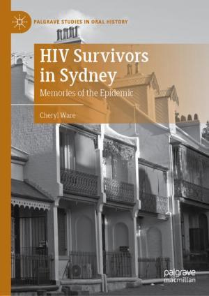 HIV Survivors in Sydney: Memories of the Epidemic   Schwule Bücher im Online Buchshop Gay Book Fair