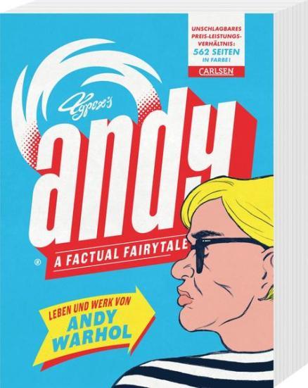 Andy - A Factual Fairytale: Leben und Werk von Andy Warhol   Schwule Bücher im Online Buchshop Gay Book Fair