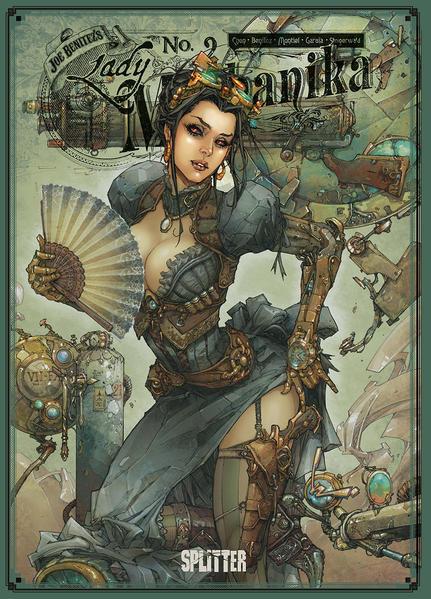 Lady Mechanika Collector's Edition 2: Die Schicksalstafel | Schwule Bücher im Online Buchshop Gay Book Fair