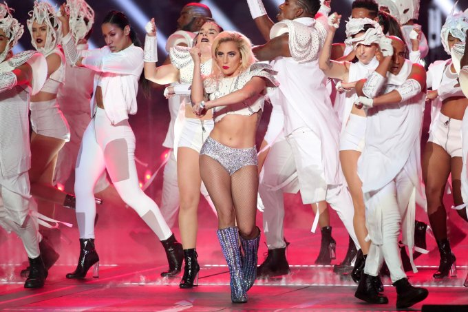 Gaga no Super Bowl (foto: Getty)