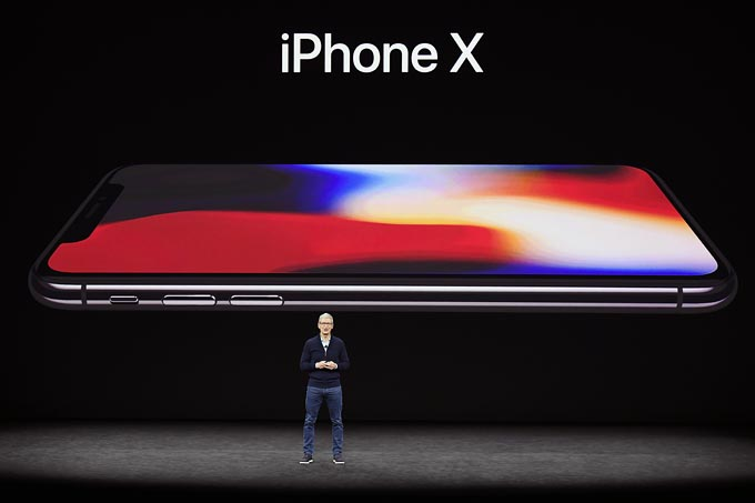 Apple Inc. Debuts New iPhones At Product Launch Event