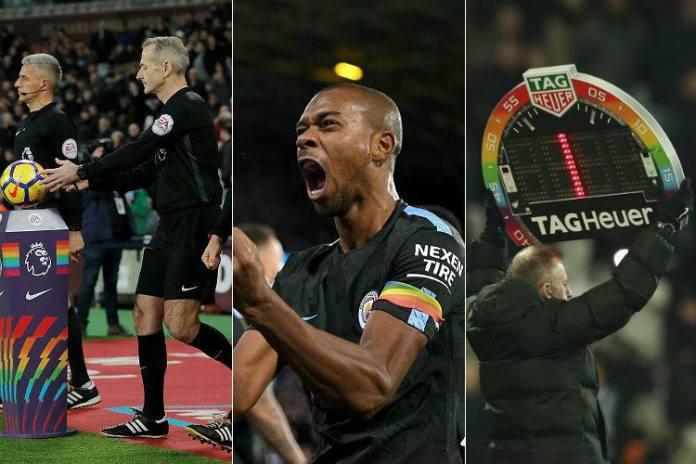 Cores do arco-íris, que compõem a bandeira LGBT, foram expostas de diversas maneiras nessa rodada