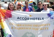 Staff da Austrália em apoio do casamento gay