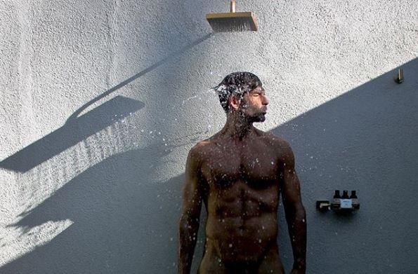 O modelo Ryan Young também usa o app (Foto: reprodução)