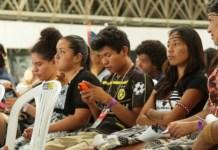 O V Encontro Nacional dos Estudantes Indígenas reuniu universitários de todo o país. Foto: André Oliveira/Agência Pública