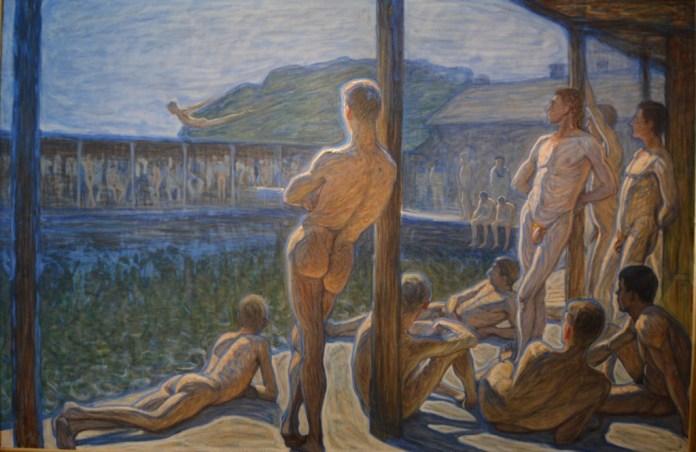 Flottan bathhouse   Photo: Wikimedia Commons